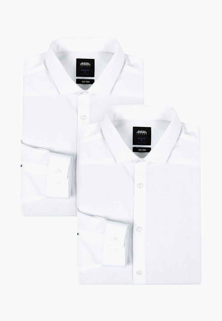Рубашка с длинным рукавом Burton Menswear London 19F92LWHT