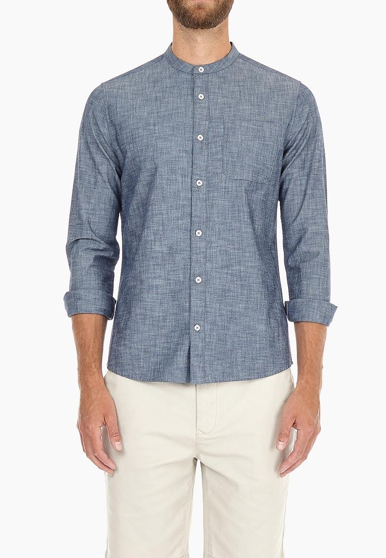 Рубашка с длинным рукавом Burton Menswear London 22D02NBLU