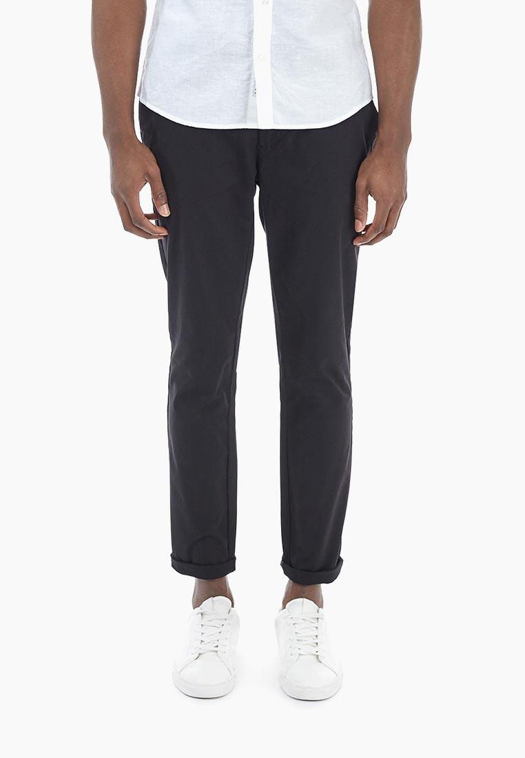 Мужские повседневные брюки Burton Menswear London 23C04MBLK