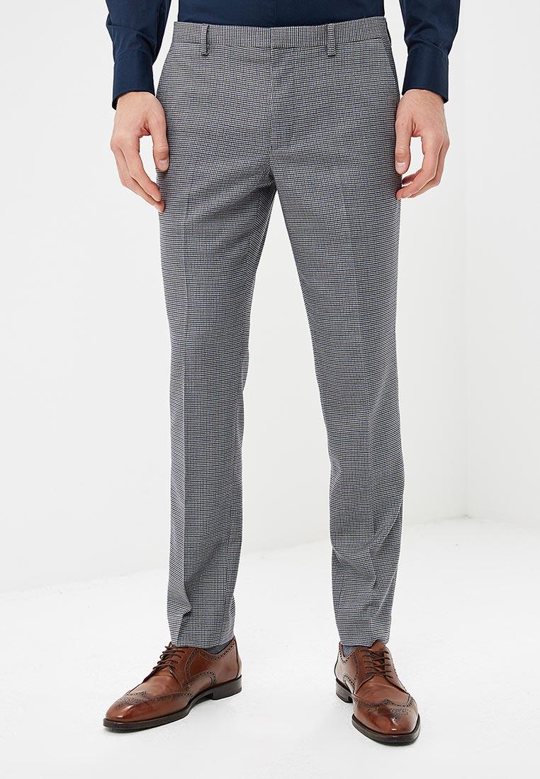 Мужские зауженные брюки Burton Menswear London 02K25NGRY