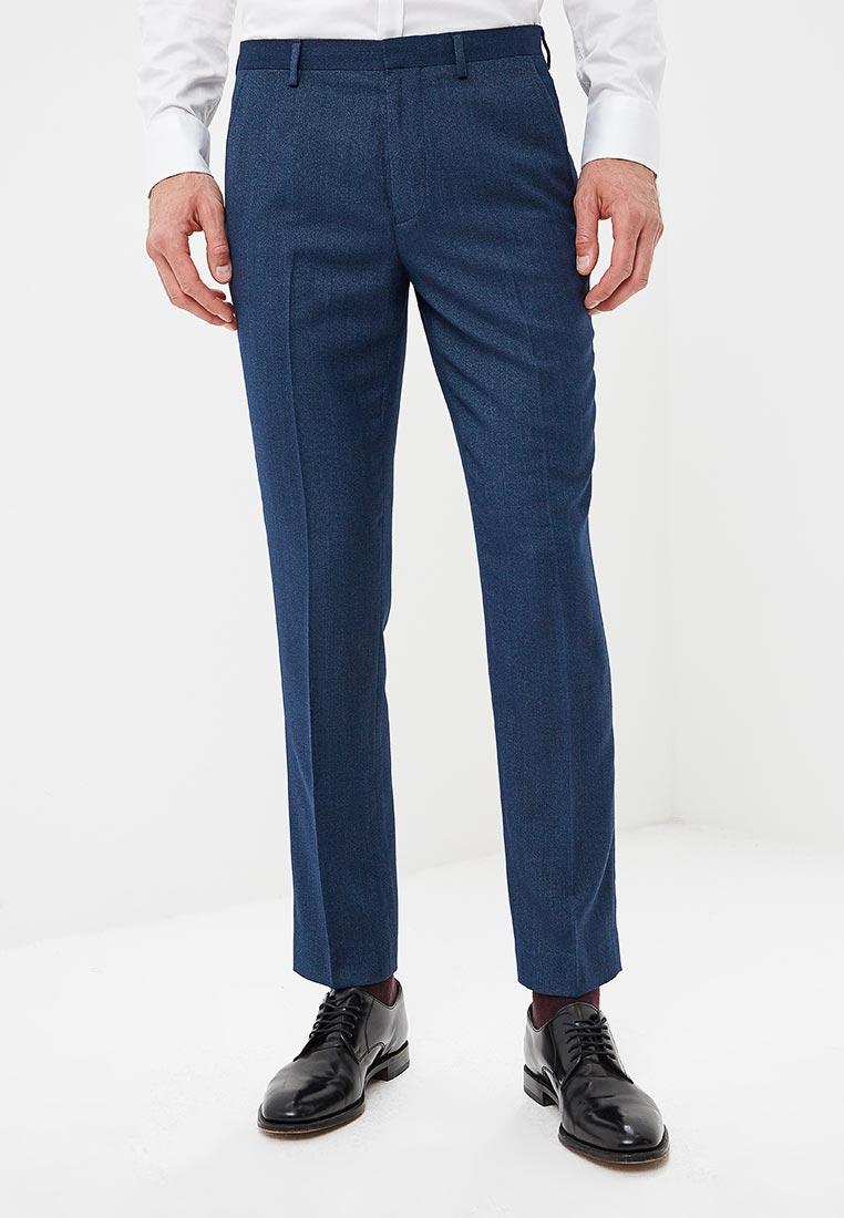 Мужские классические брюки Burton Menswear London 02S18NBLU