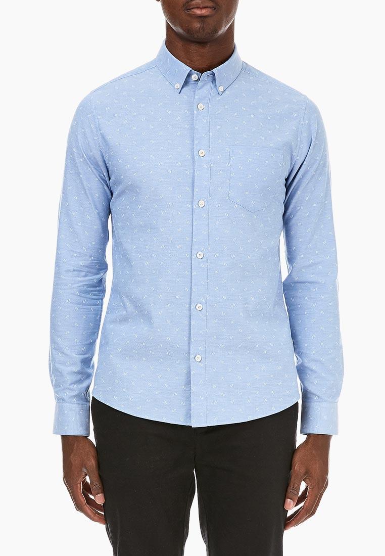 Рубашка с длинным рукавом Burton Menswear London (Бертон Менсвеар Лондон) 22P18MBLU