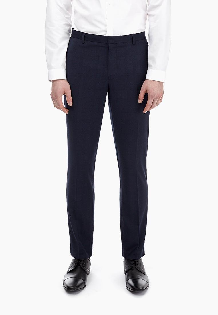 Мужские зауженные брюки Burton Menswear London 23K03MBLU