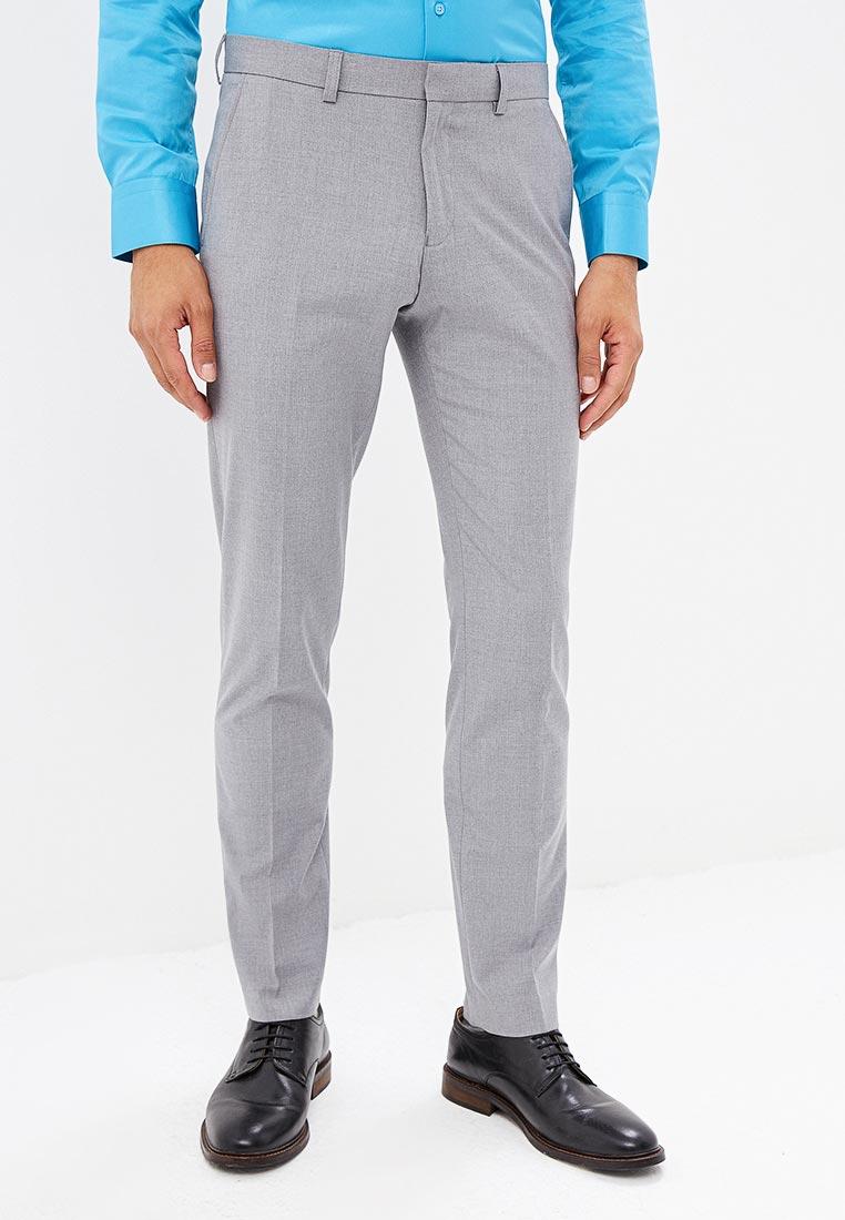 Мужские классические брюки Burton Menswear London 23S09MGRY