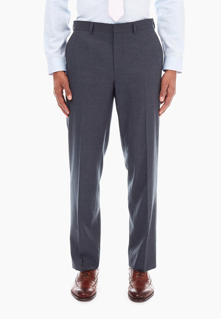 Мужские классические брюки Burton Menswear London 02T12NBLU