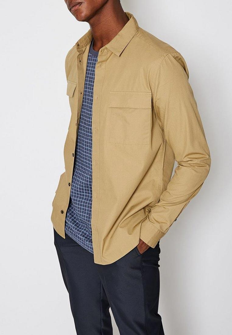 Рубашка с длинным рукавом FoR by Burton Menswear London 49F27NNAT
