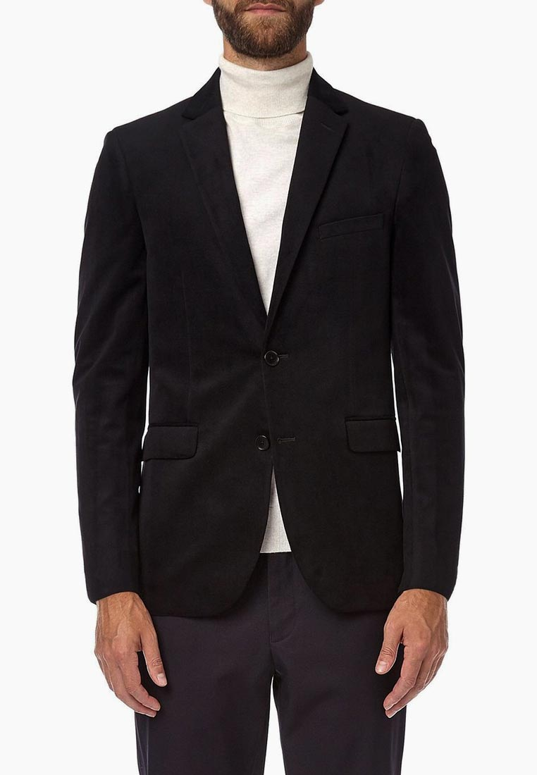 Пиджак Burton Menswear London 01J19NBLK