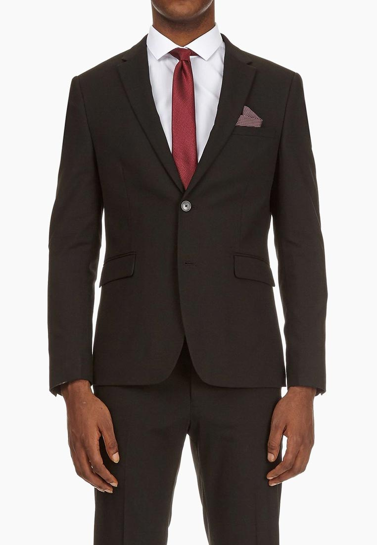 Пиджак Burton Menswear London 02K50MBLK