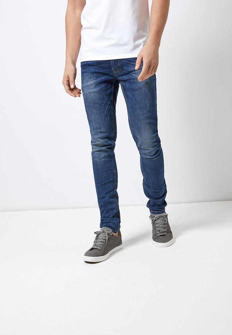 Зауженные джинсы Burton Menswear London 12S01OBLU