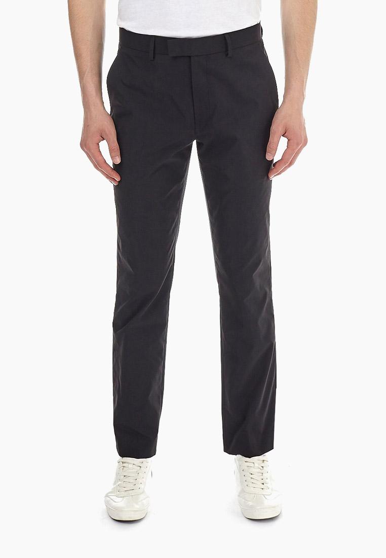 Мужские повседневные брюки Burton Menswear London 23S12MBLK
