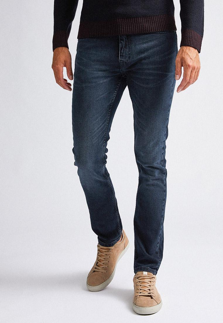Зауженные джинсы Burton Menswear London 12K01PBLU