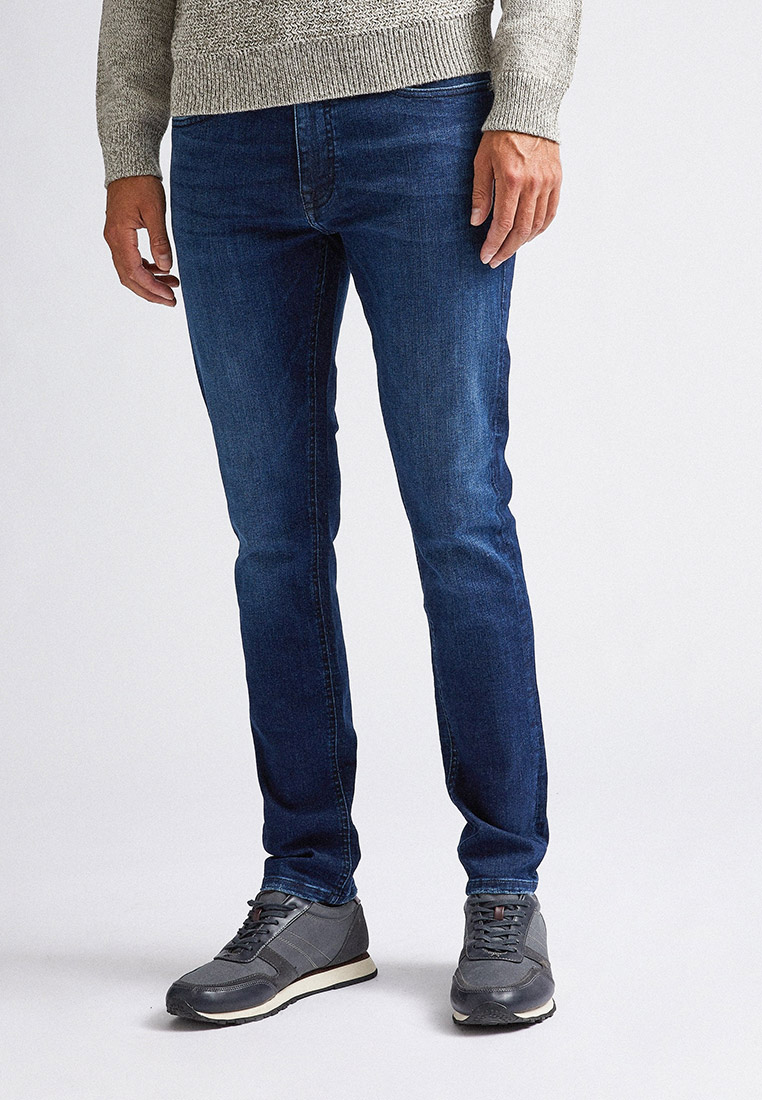 Зауженные джинсы Burton Menswear London 12K02PBLU