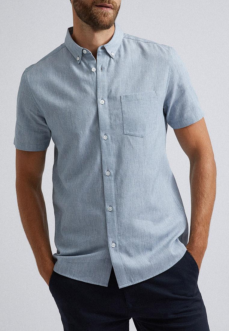 Рубашка с длинным рукавом Burton Menswear London 22T01PBLU