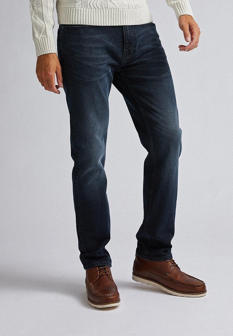 Мужские прямые джинсы Burton Menswear London 12L01PBLU