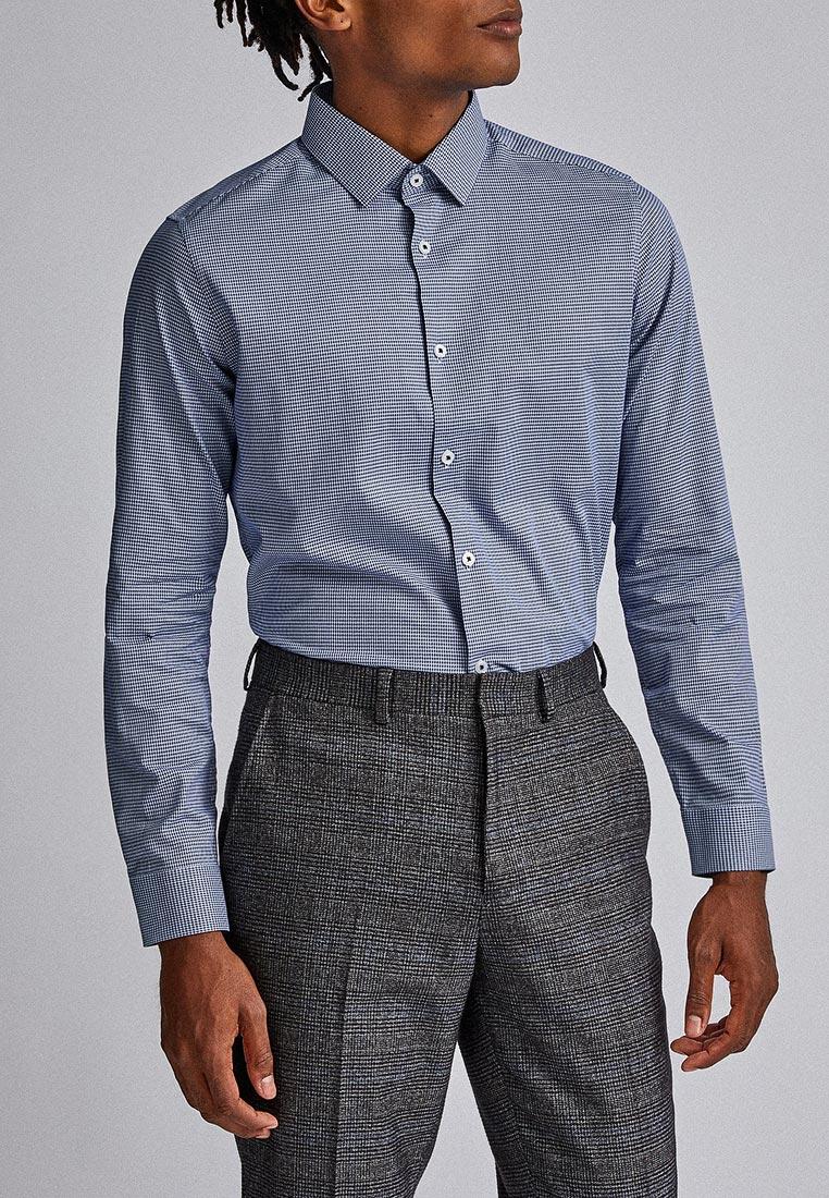 Рубашка с длинным рукавом Burton Menswear London 19F10PBLU
