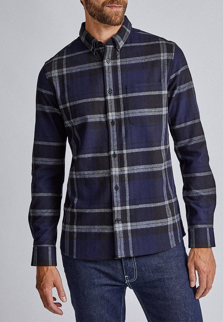 Рубашка с длинным рукавом Burton Menswear London 22C03PNVY