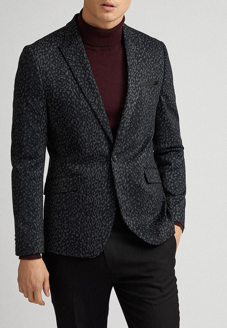 Пиджак Burton Menswear London 01J26PGRY