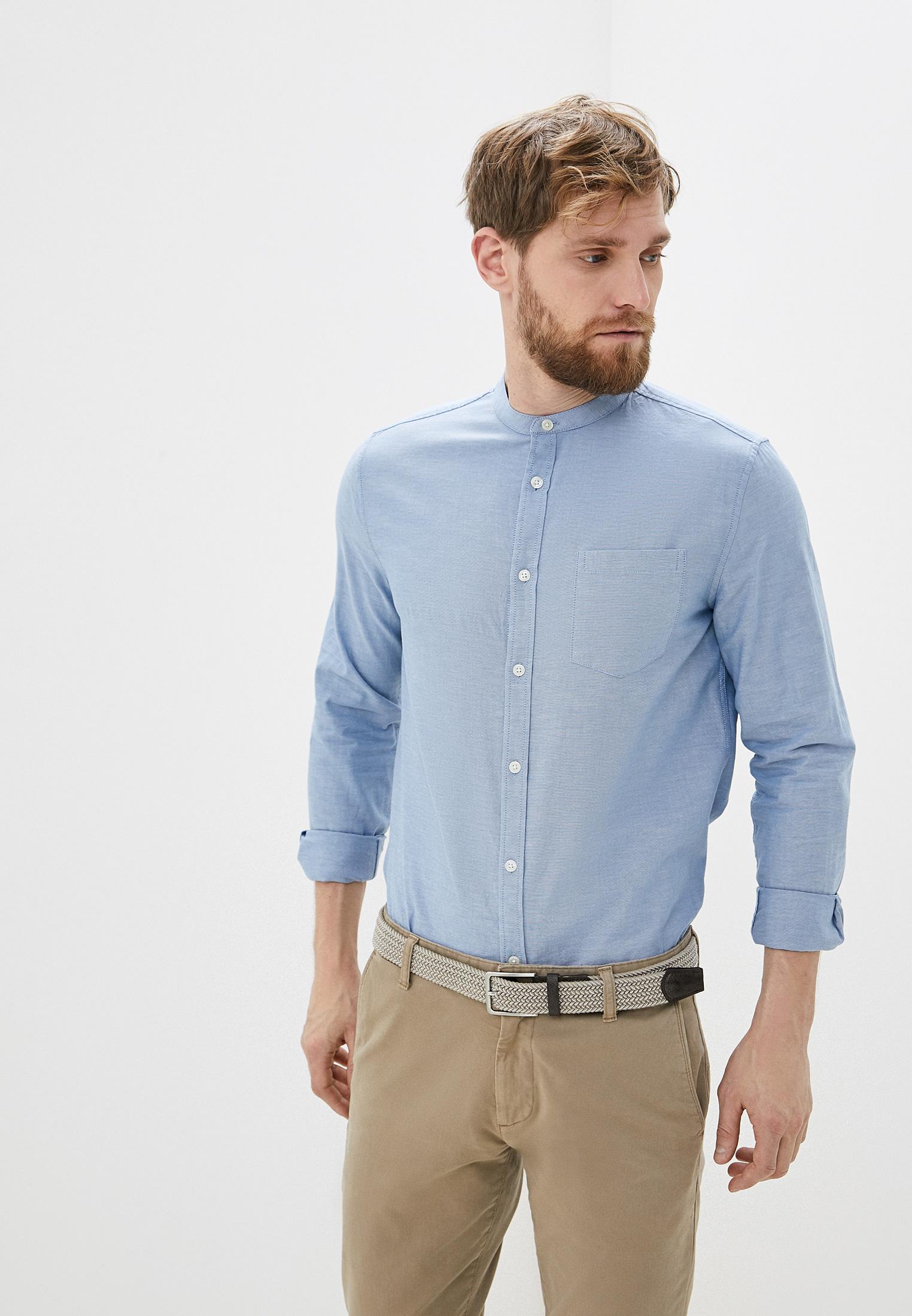 Рубашка с длинным рукавом Burton Menswear London 22O21QBLU