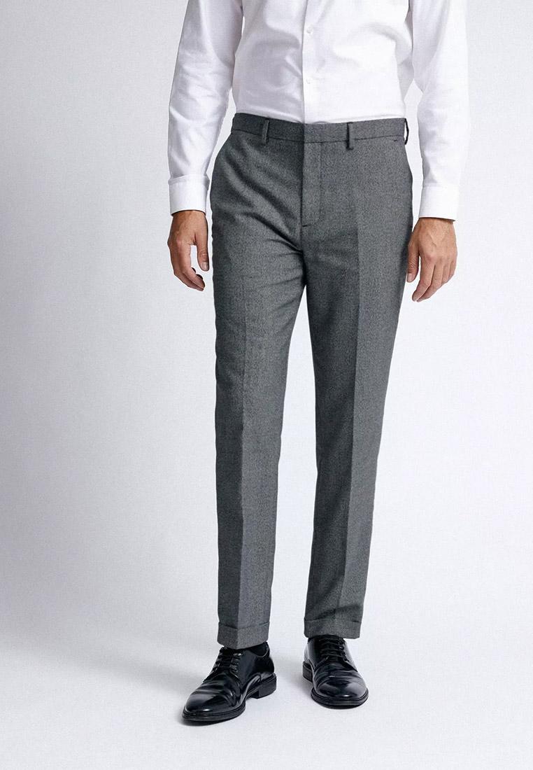 Мужские классические брюки Burton Menswear London 23S07PGRY