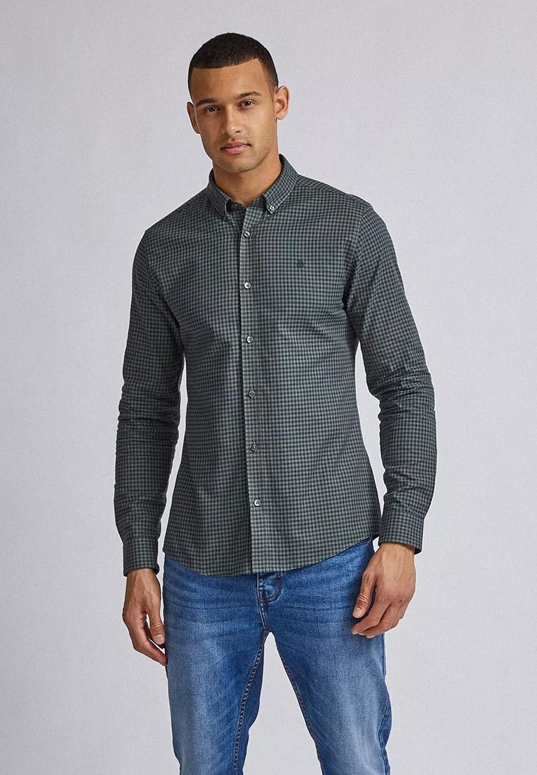 Рубашка с длинным рукавом Burton Menswear London 22C04QGRN