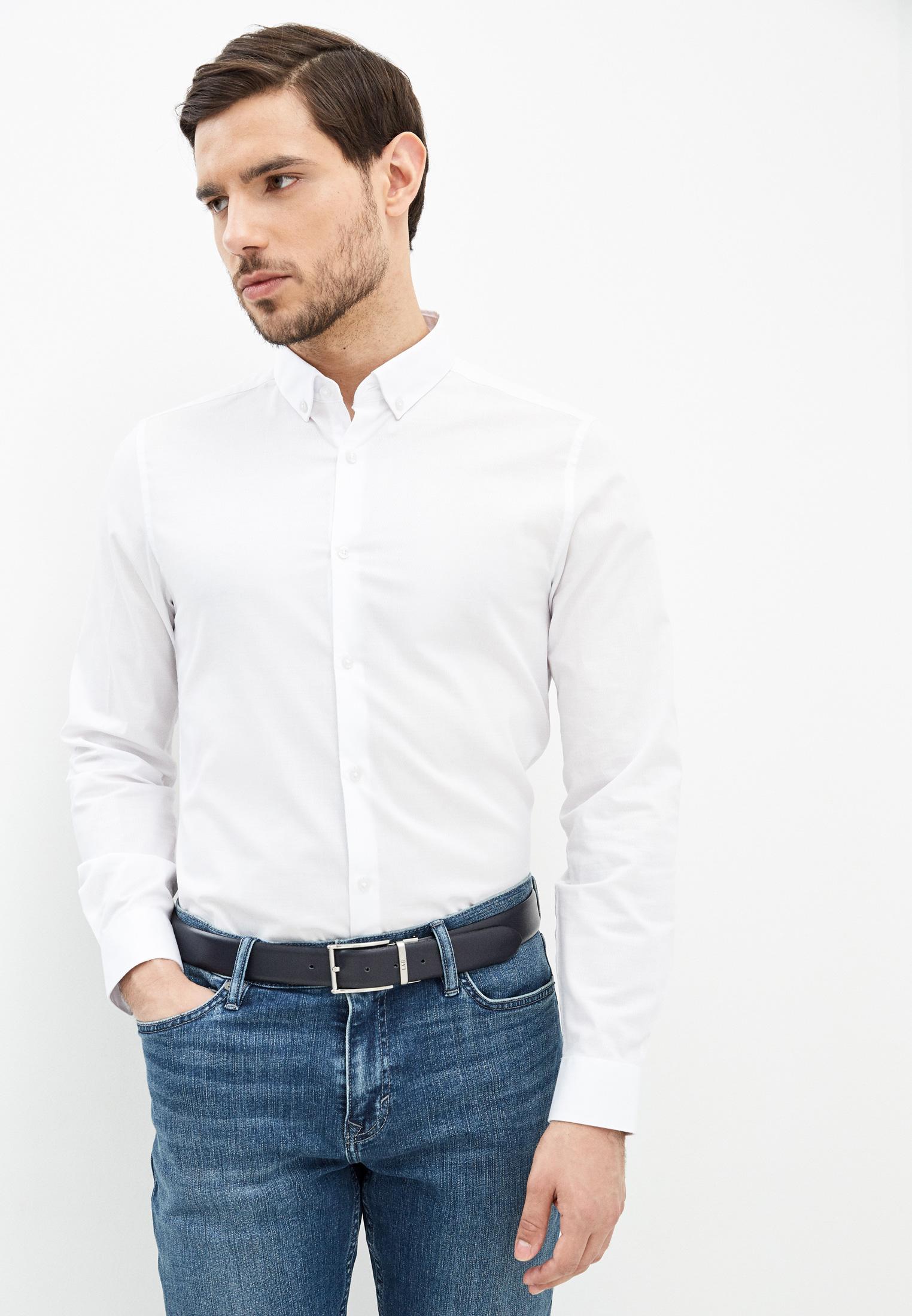 Рубашка с длинным рукавом Burton Menswear London (Бертон Менсвеар Лондон) 19F06PWHT