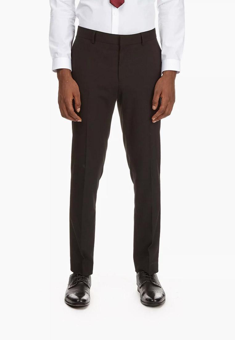 Мужские классические брюки Burton Menswear London 02K05PBLK