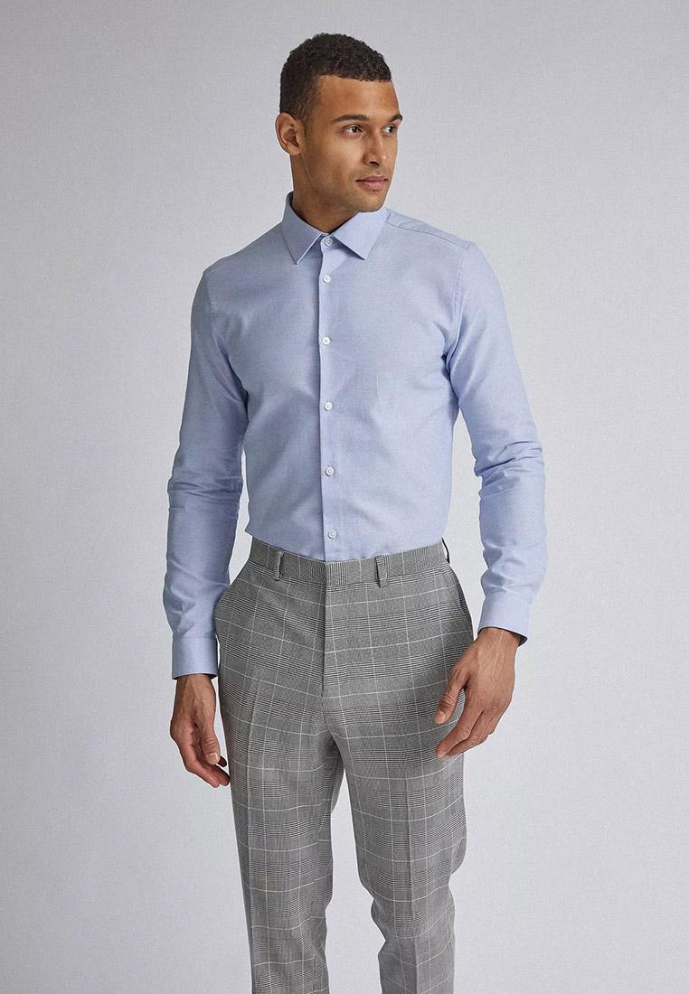 Рубашка с длинным рукавом Burton Menswear London (Бертон Менсвеар Лондон) 19F11QBLU