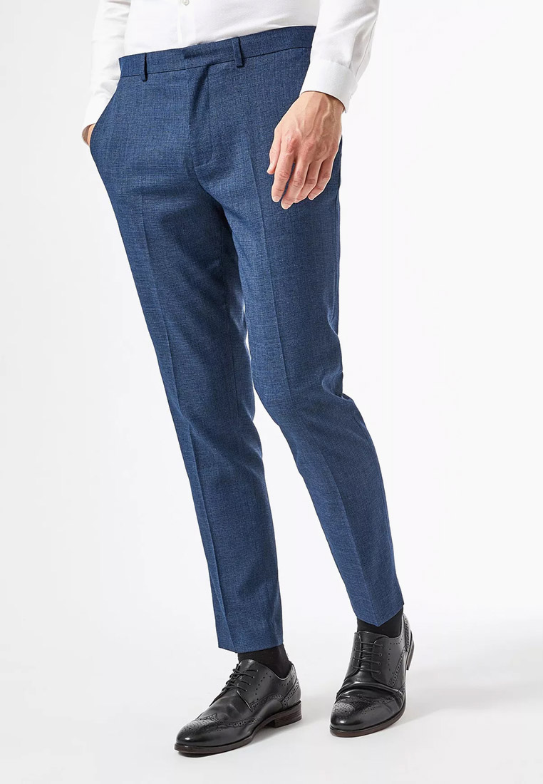 Мужские классические брюки Burton Menswear London 02S29QBLU