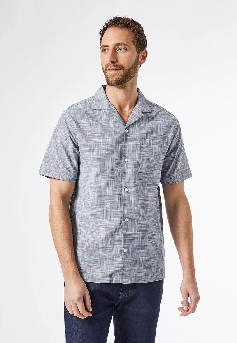 Рубашка с длинным рукавом Burton Menswear London 22C10QBLU