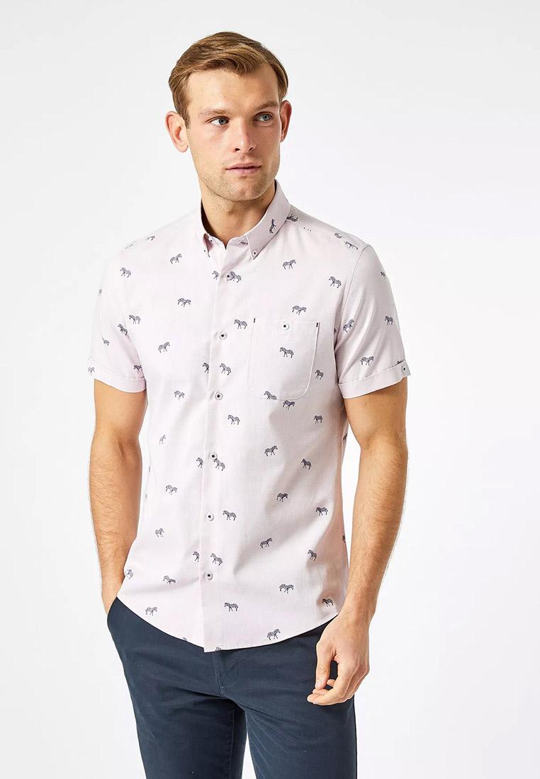 Рубашка с коротким рукавом Burton Menswear London (Бертон Менсвеар Лондон) 22P12QPNK
