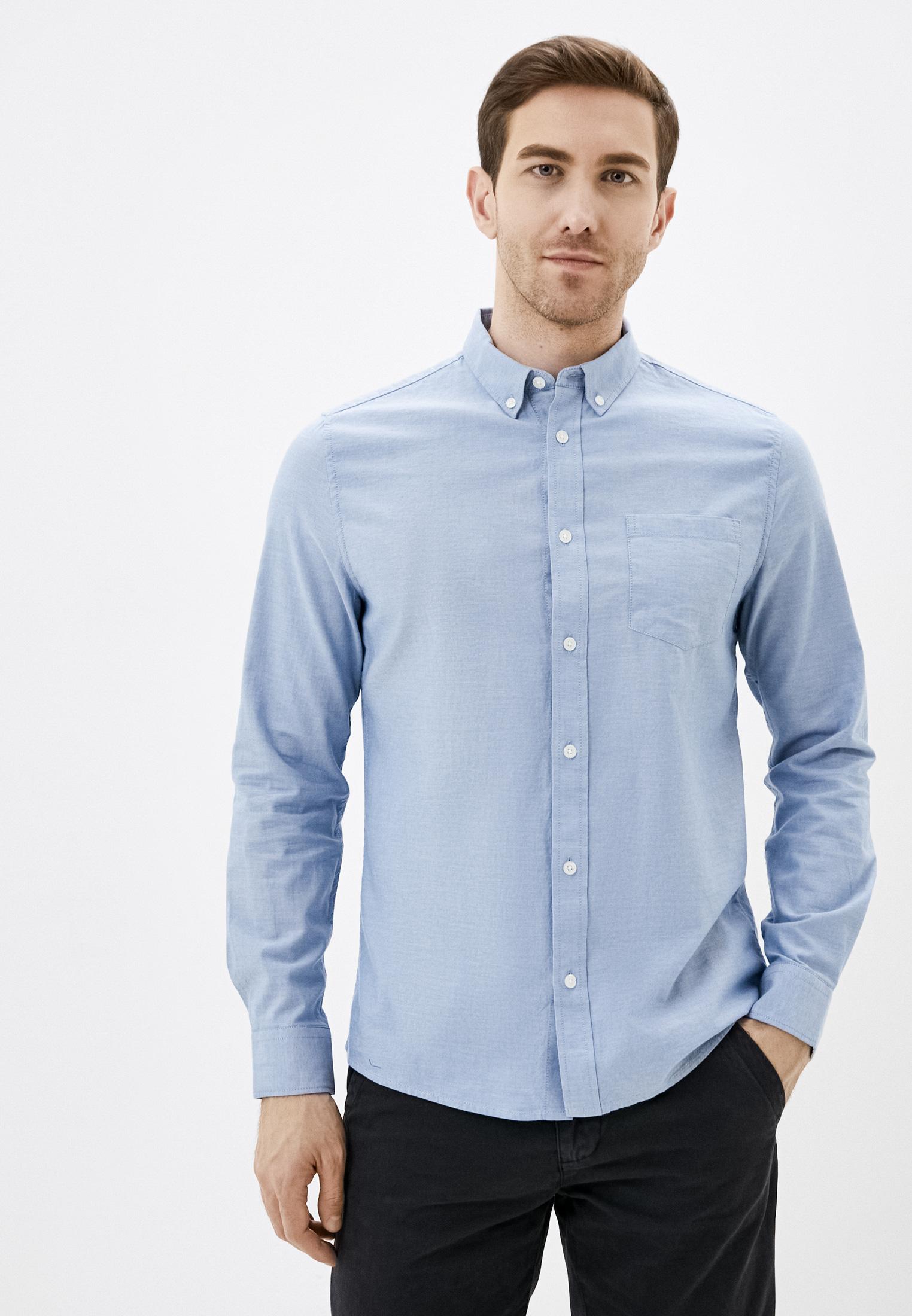 Рубашка с длинным рукавом Burton Menswear London 22O03QBLU