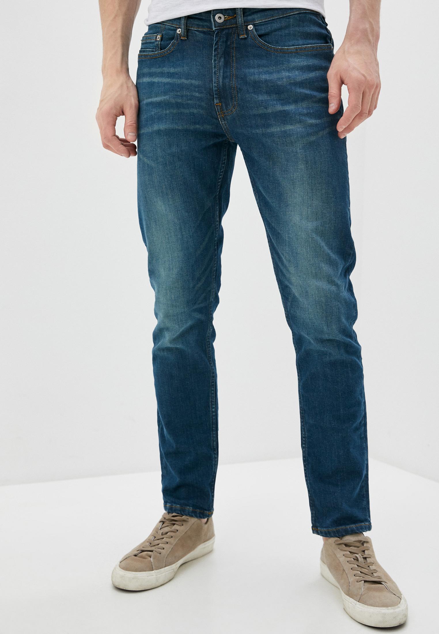 Зауженные джинсы Burton Menswear London 12L06QBLU