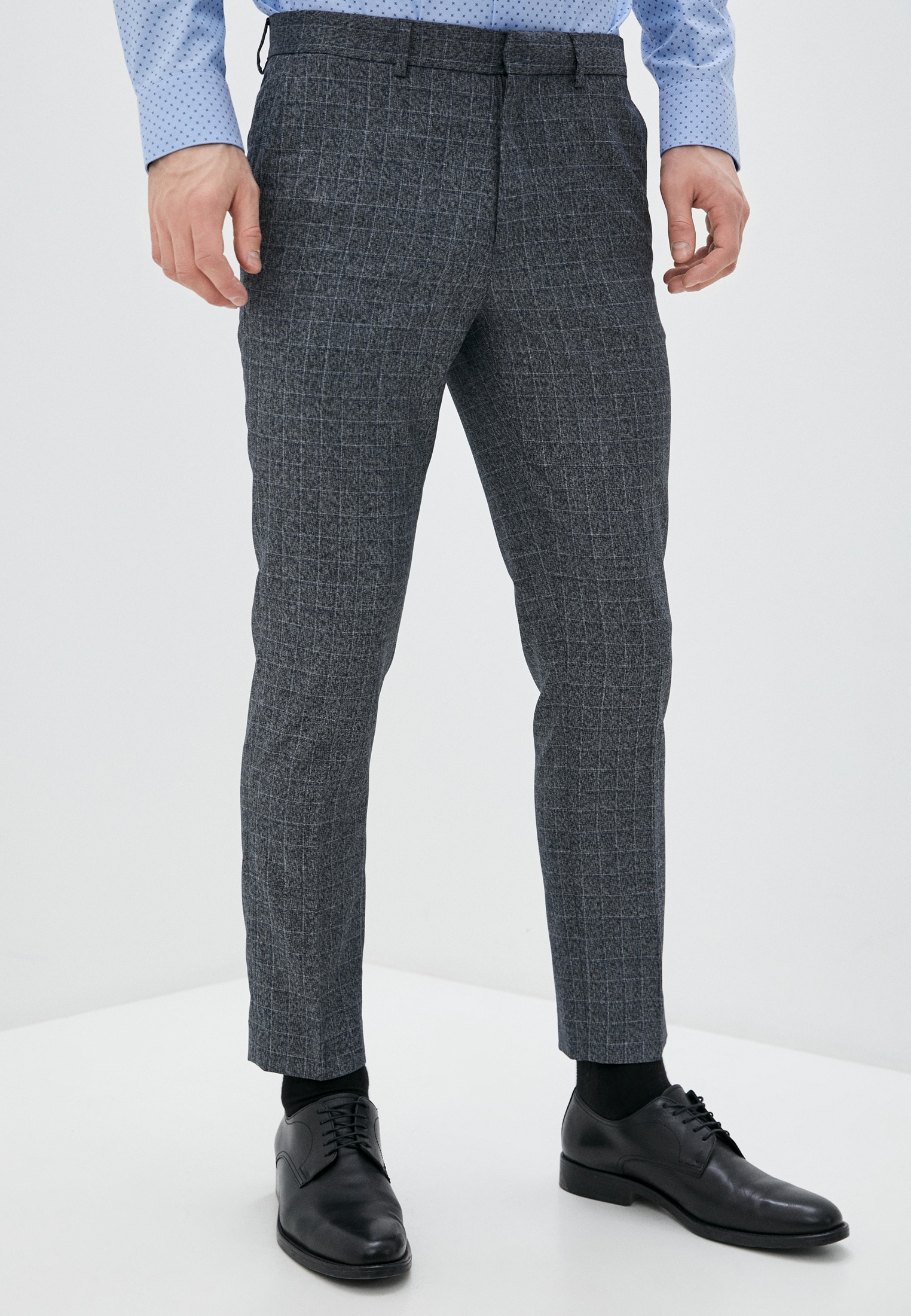 Мужские зауженные брюки Burton Menswear London 23K03QBLU