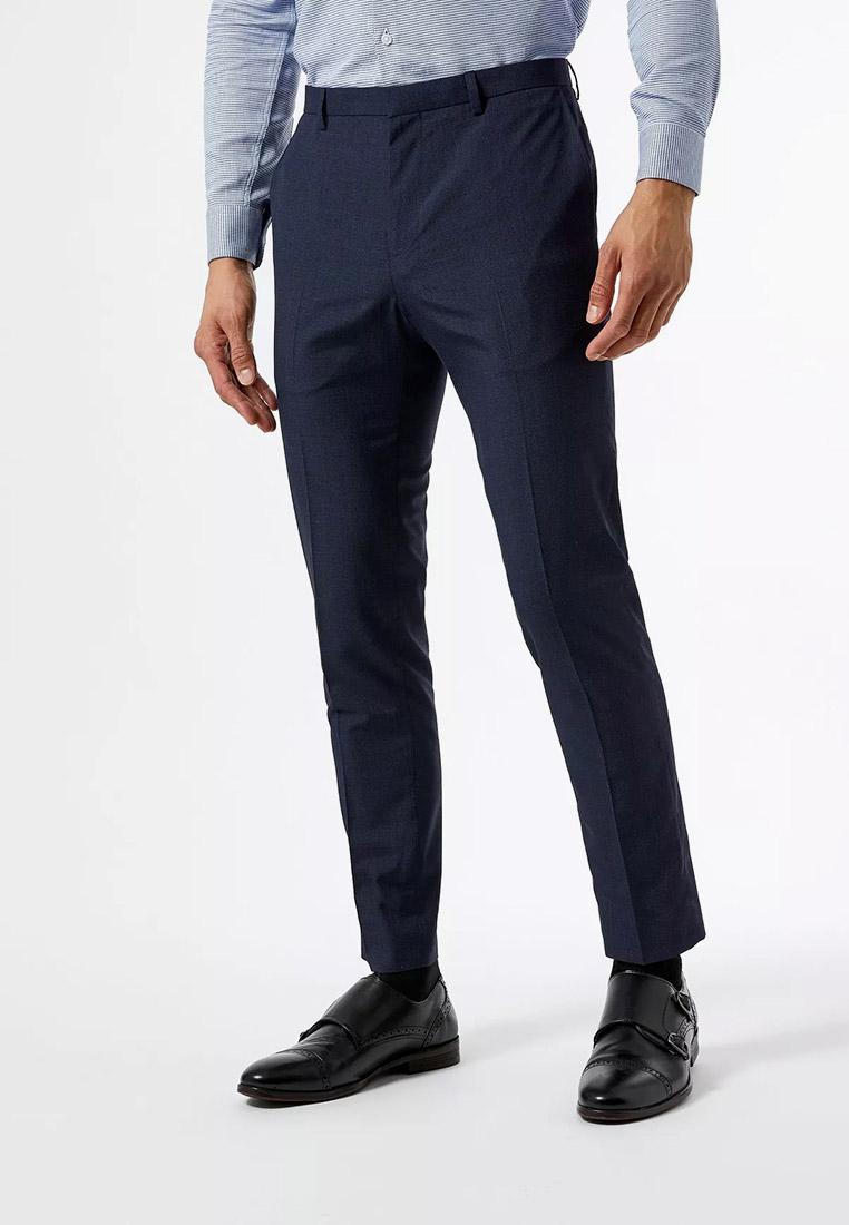 Мужские классические брюки Burton Menswear London 02K65QBLU