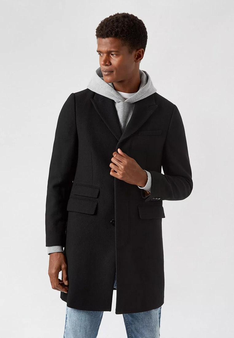 Мужские пальто Burton Menswear London (Бертон Менсвеар Лондон) 06W04RBLK