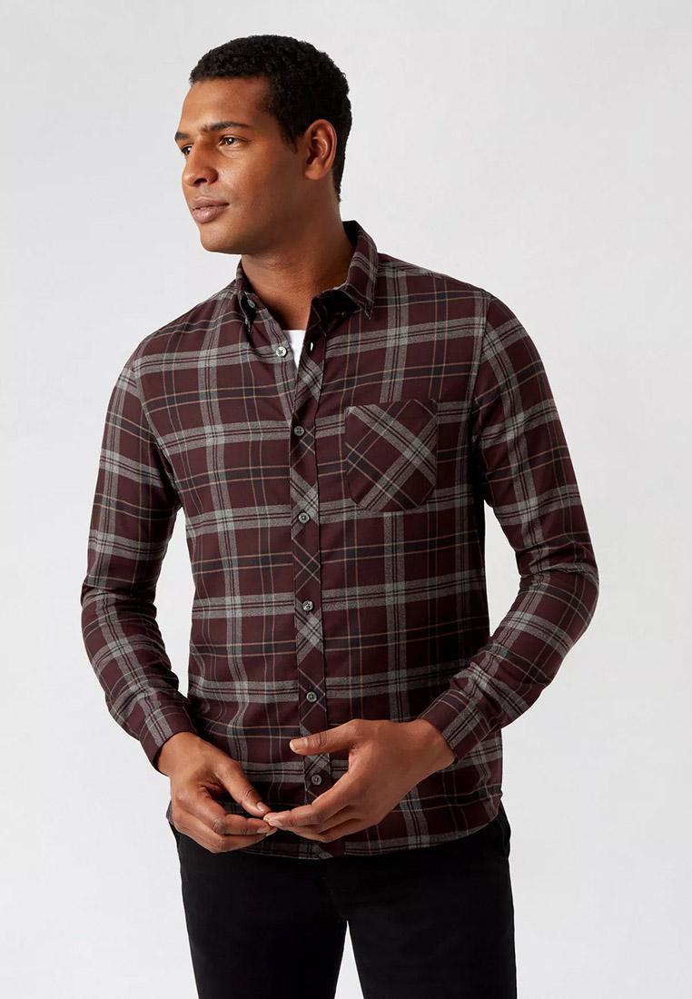 Рубашка с длинным рукавом Burton Menswear London 22C25RPUR