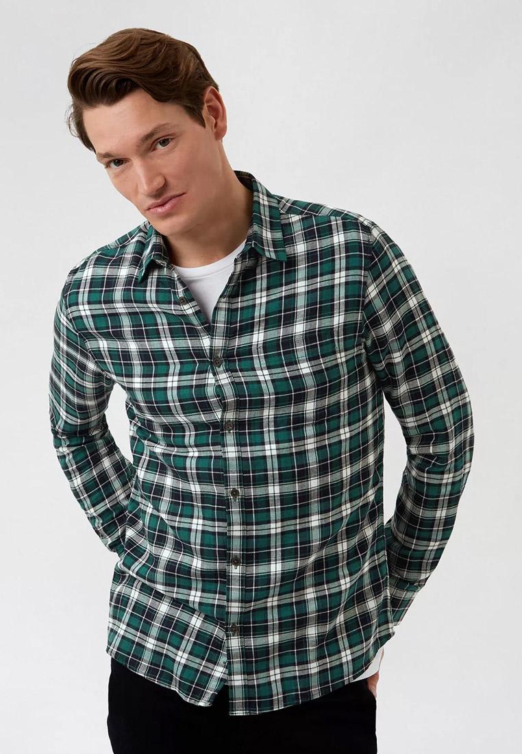 Рубашка с длинным рукавом Burton Menswear London 22C32RGRN