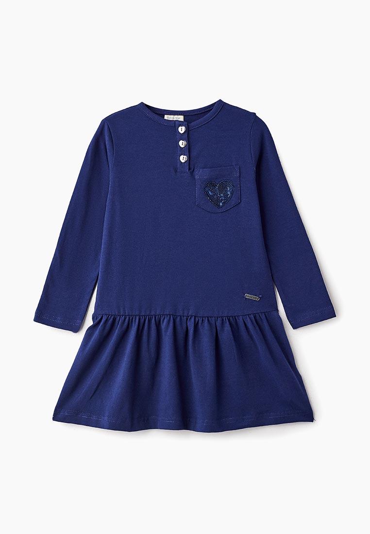 Повседневное платье Button Blue 218BBGC50021000