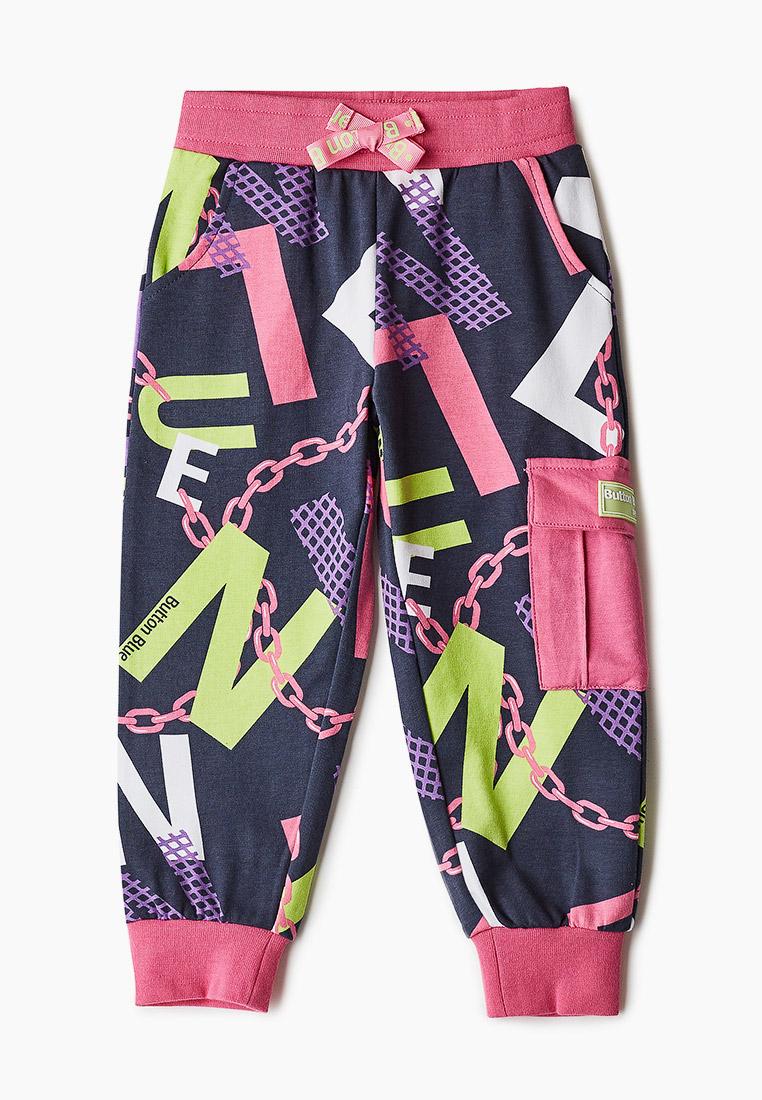 Спортивные брюки для девочек Button Blue 121BBGMC56040025