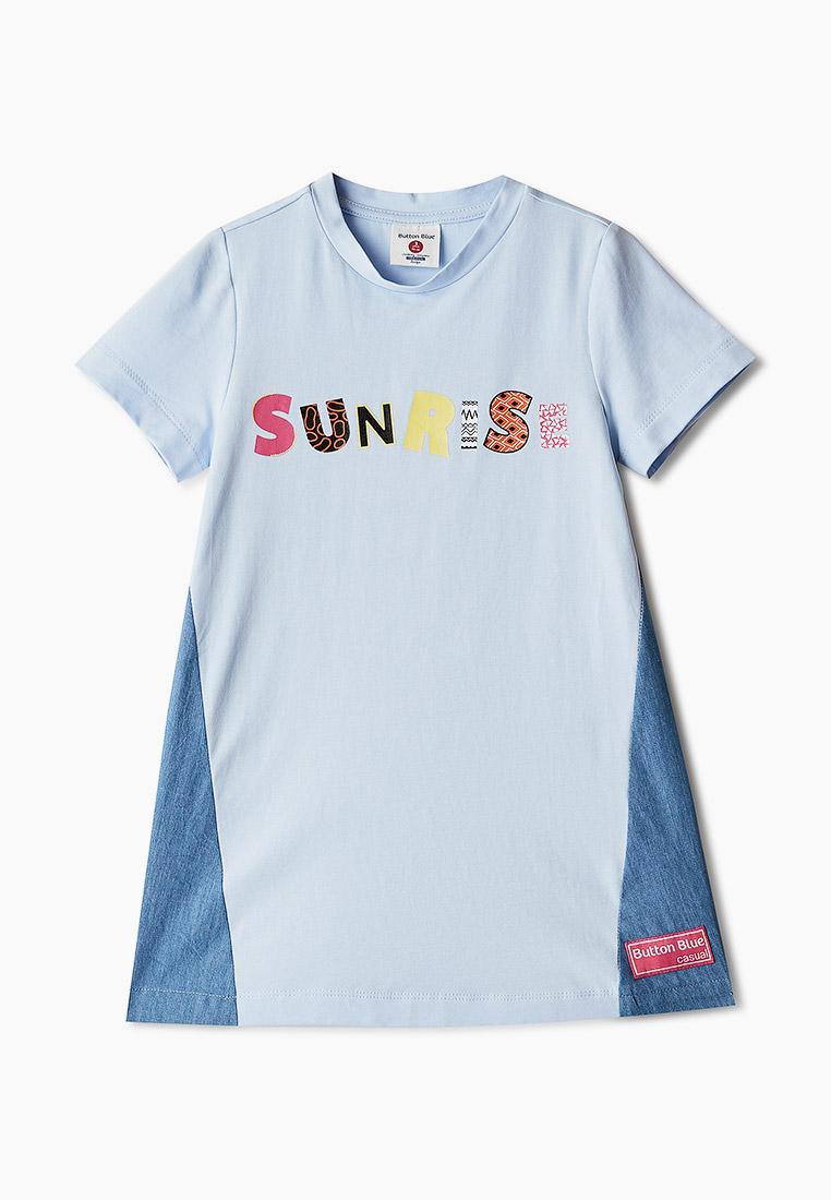 Повседневное платье Button Blue 121BBGMC50081800: изображение 1