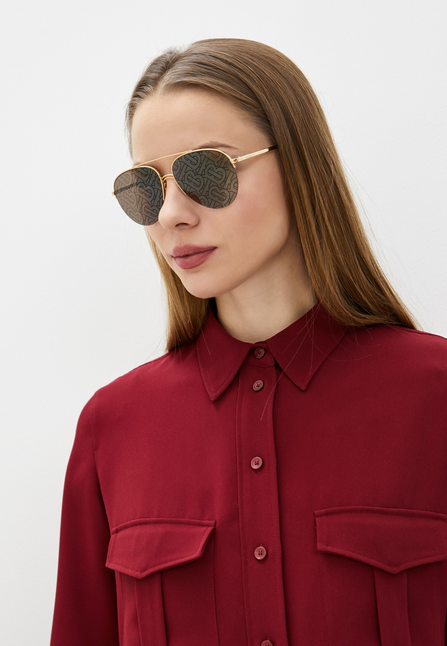Женские солнцезащитные очки Burberry Очки солнцезащитные Burberry
