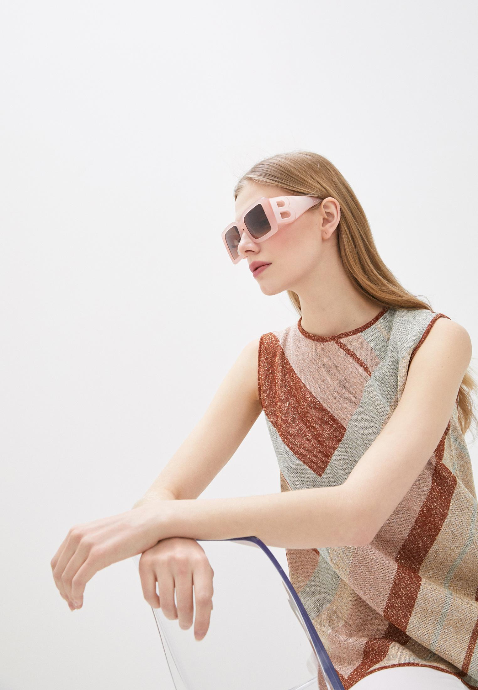 Женские солнцезащитные очки Burberry 0BE4312: изображение 6