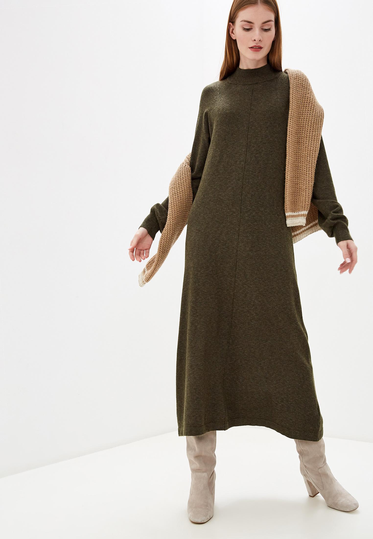 Вязаное платье b.young 20806905