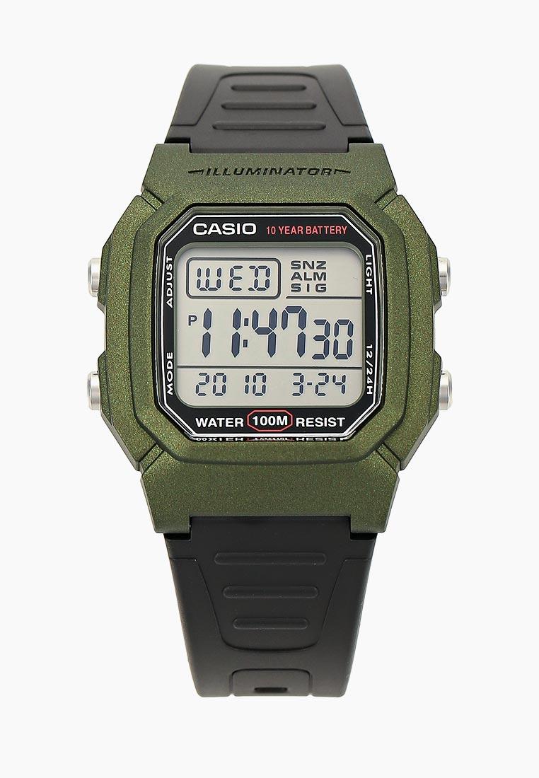 Мужские часы Casio W-800HM-3AVEF