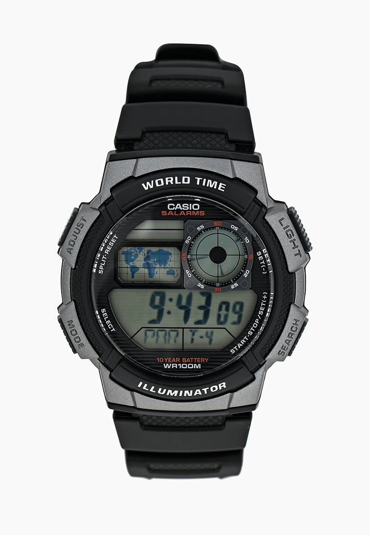 Мужские часы Casio AE-1000W-1B: изображение 6