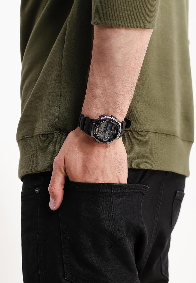 Мужские часы Casio AE-1000W-1B: изображение 8