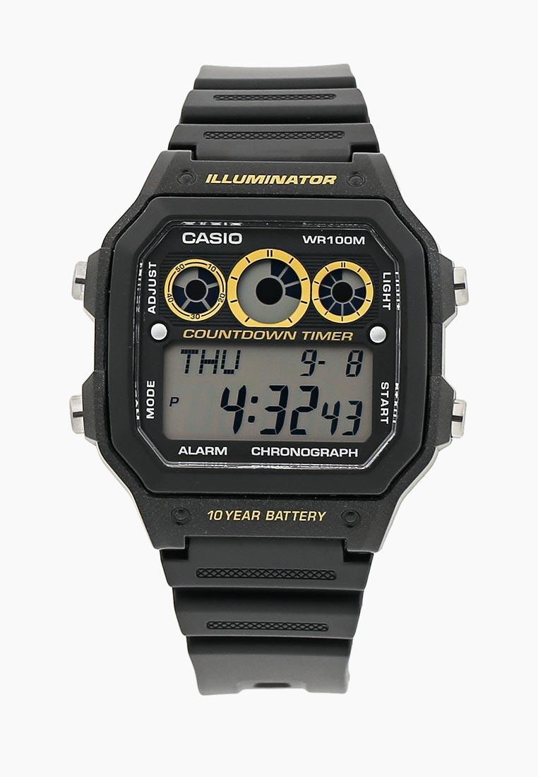 Часы Casio AE-1300WH-1A: изображение 3