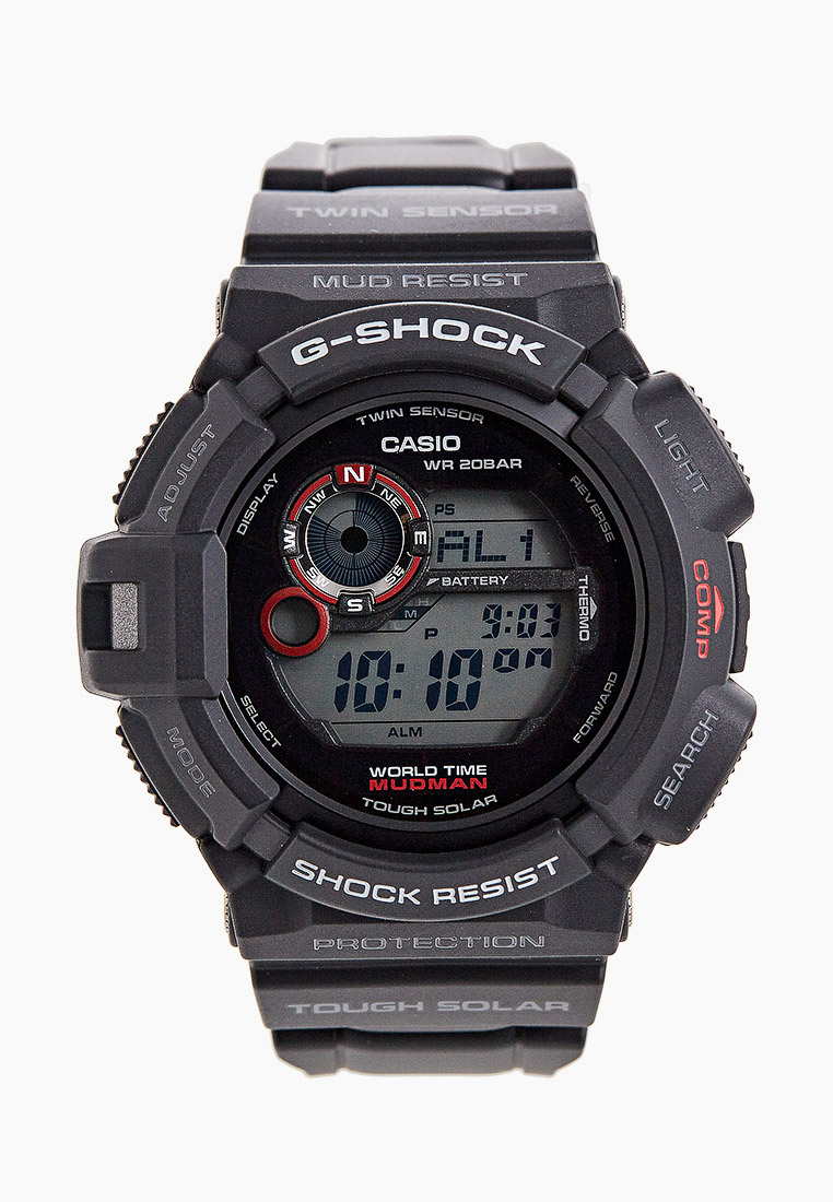 Мужские часы Casio G-9300-1E: изображение 1