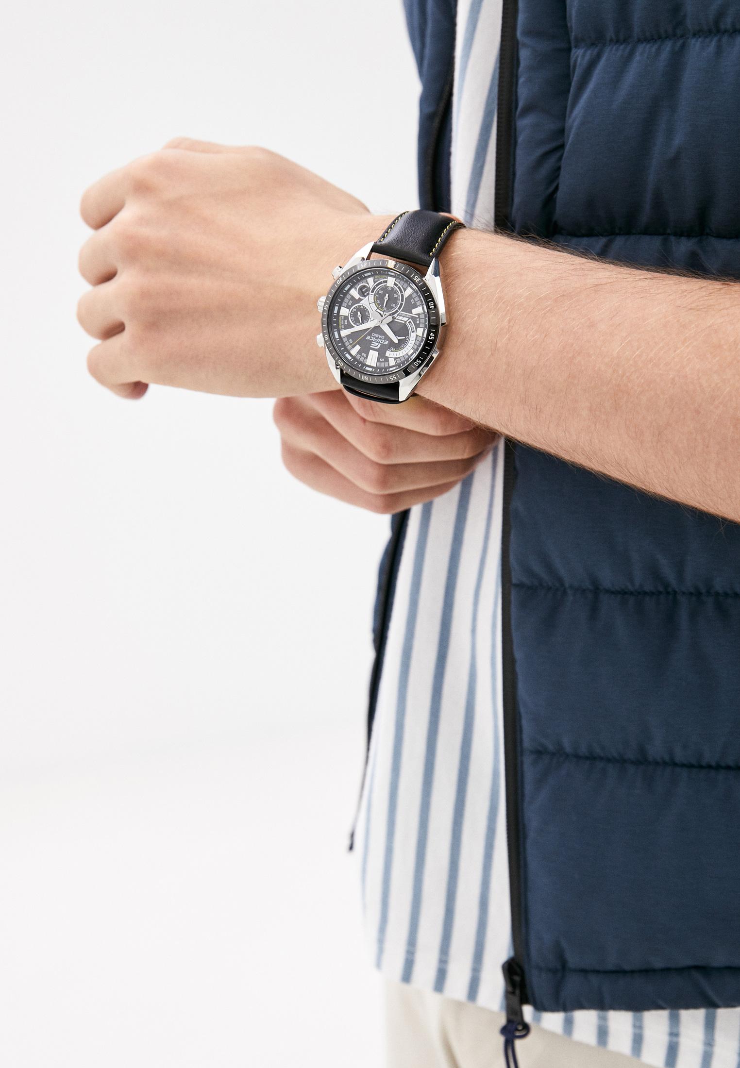 Мужские часы Casio EFR-570BL-1AVUEF: изображение 5