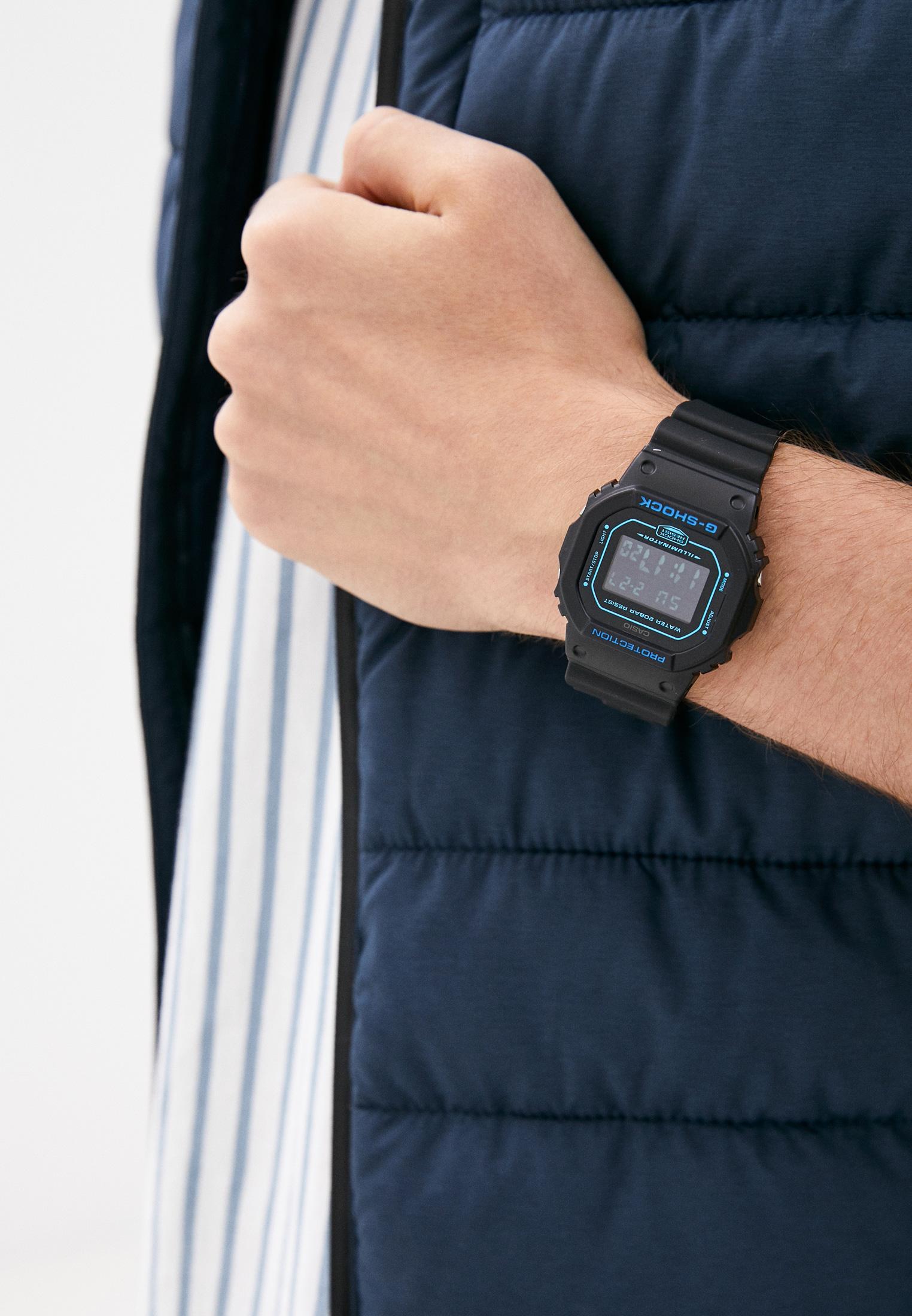 Мужские часы Casio DW-5600BBM-1ER: изображение 5